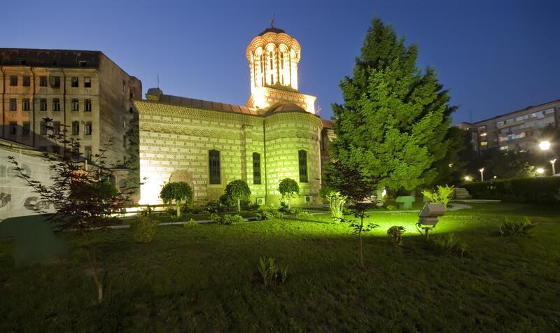 Landscape Lighting for a Church in Metro Detroit