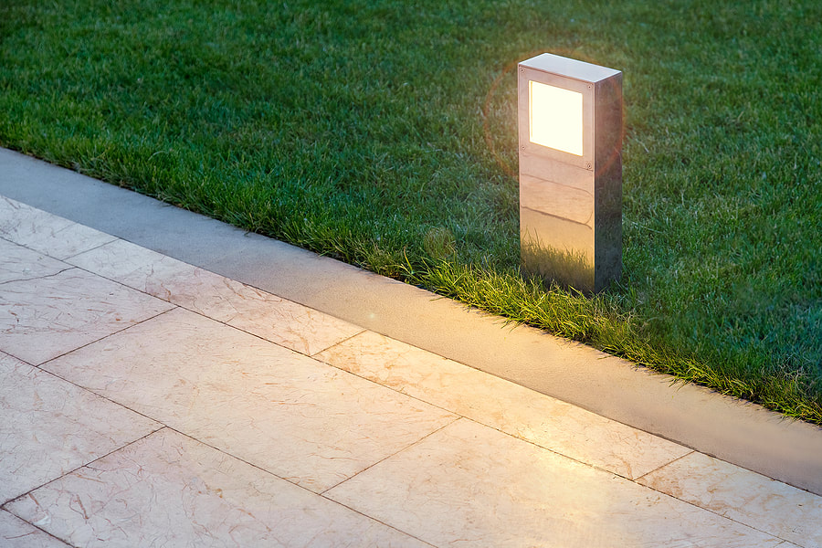 Path & Driveway Lighting for a residential home in Northville, Michigan